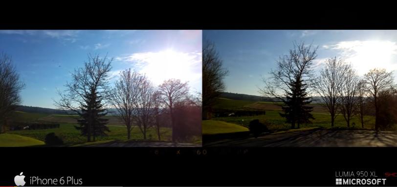 Видео: сравнение камер на iPhone 6S Plus и Lumia 950 XL