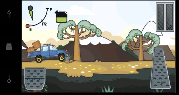 Игра Trucking Mania: гонки на грузовиках для Windows 10 Mobile