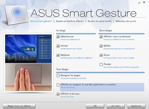 ASUS Smart Gesture