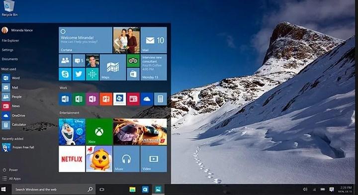 Windows 10 1703