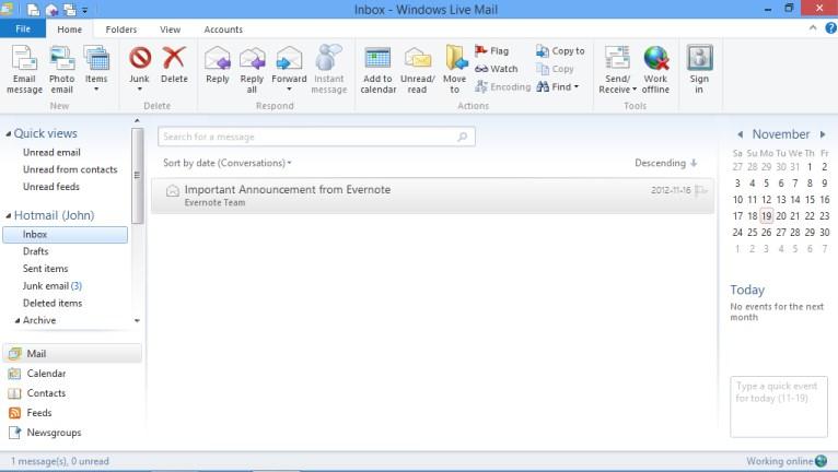 Windows Mail