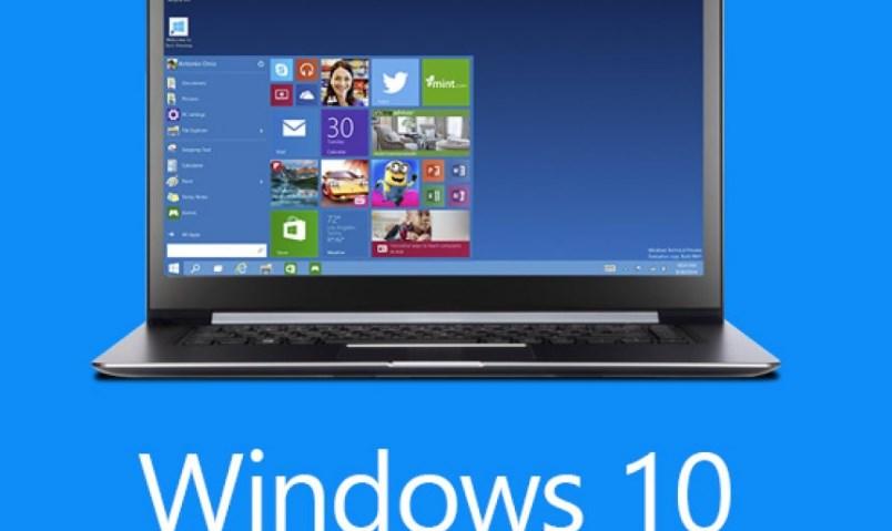 Установка Windows 10 на ноутбук