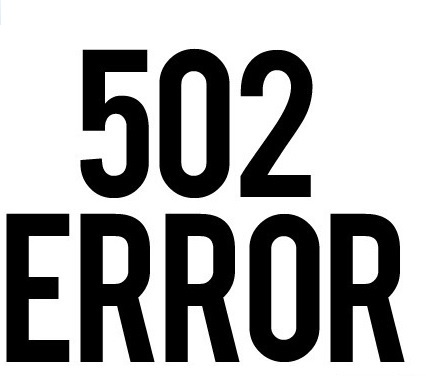 Что значит ошибка 502 bad gateway