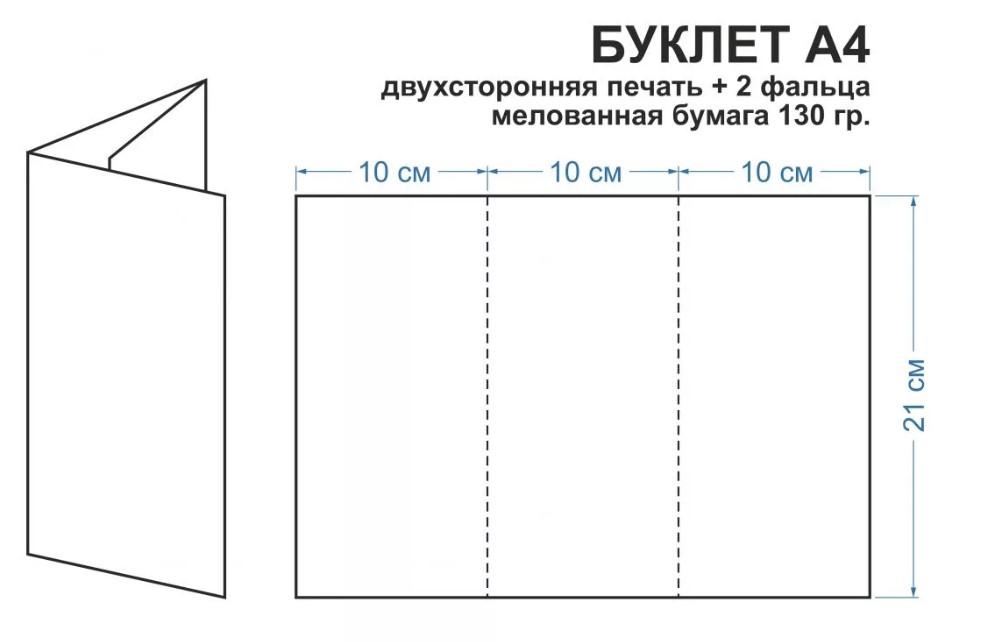 Шаблоны буклетов и брошюр