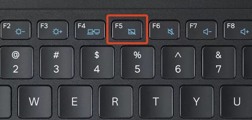 Кнопка включения Тачпада на ноутбуке