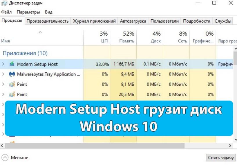 Что такое Modern Setup Host или Setuphost.exe