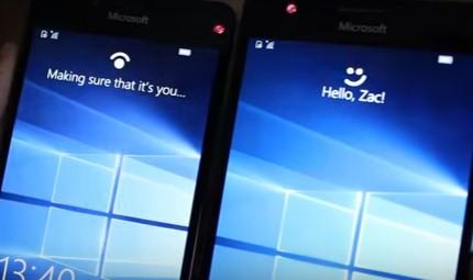 В новой сборке Windows 10 Mobile Creators Update будет увеличена скорость Windows Hello