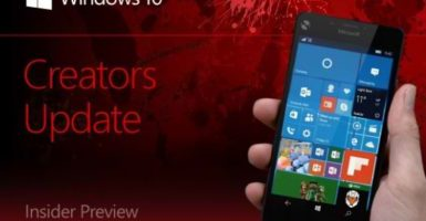 Windows 10 Mobile 15025