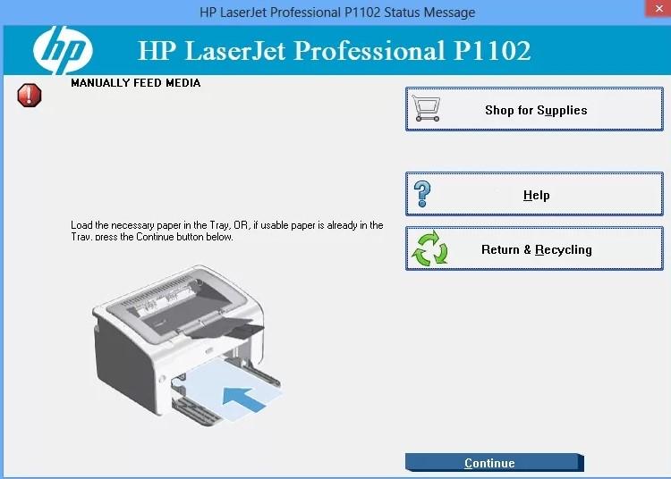 Драйвер HP LaserJet P1102