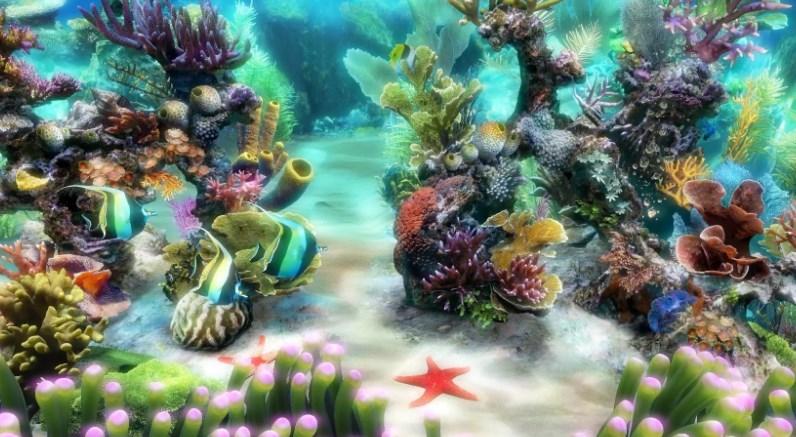Заставка аквариум