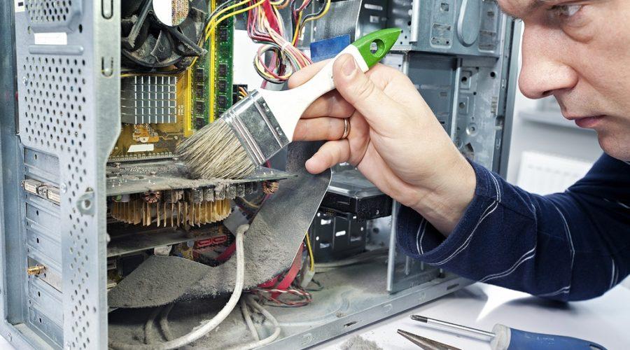 Почистить компьютер, чтобы не тормозил