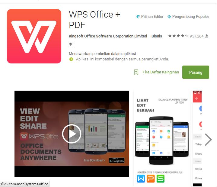 Программа WPS Office