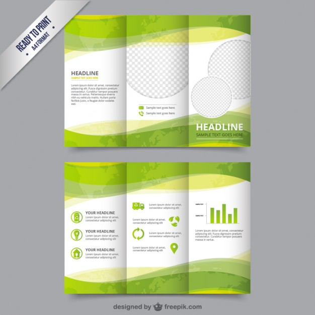 Шаблоны брошюр буклетов