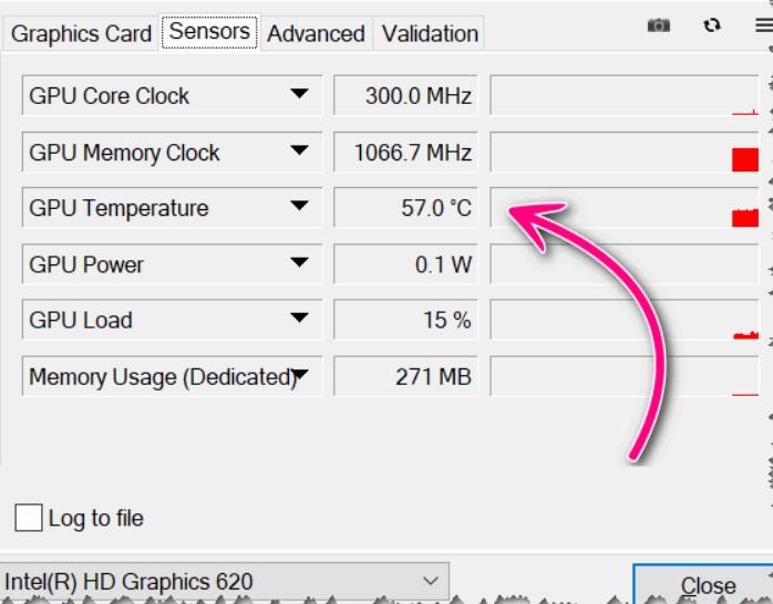 Как узнать температуру видеокарты