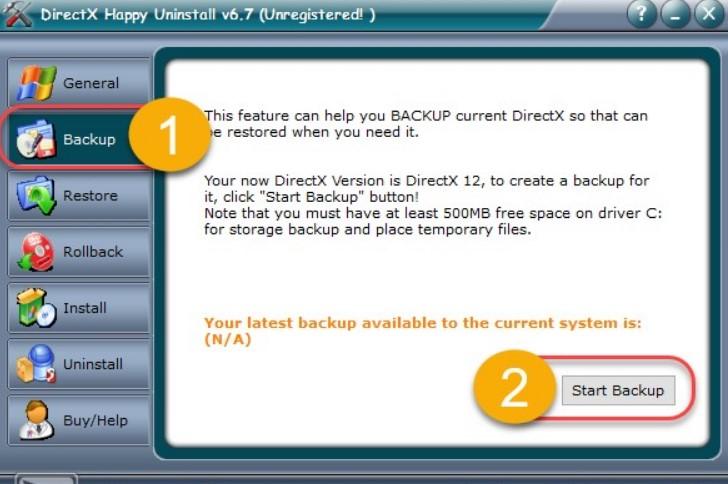 Как удалить DirectX полностью