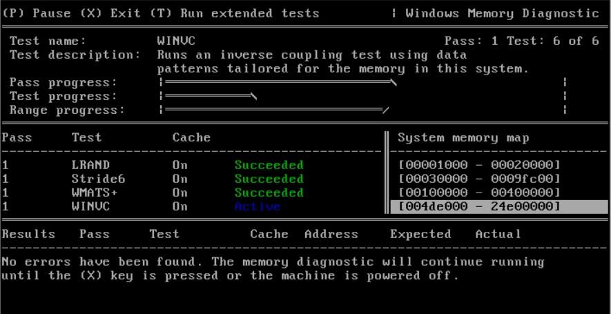 Как пользоваться Windows Memory Diagnostic Utility