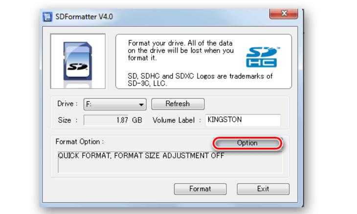 SDFormatter – программа №1 для низкоуровневого форматирования