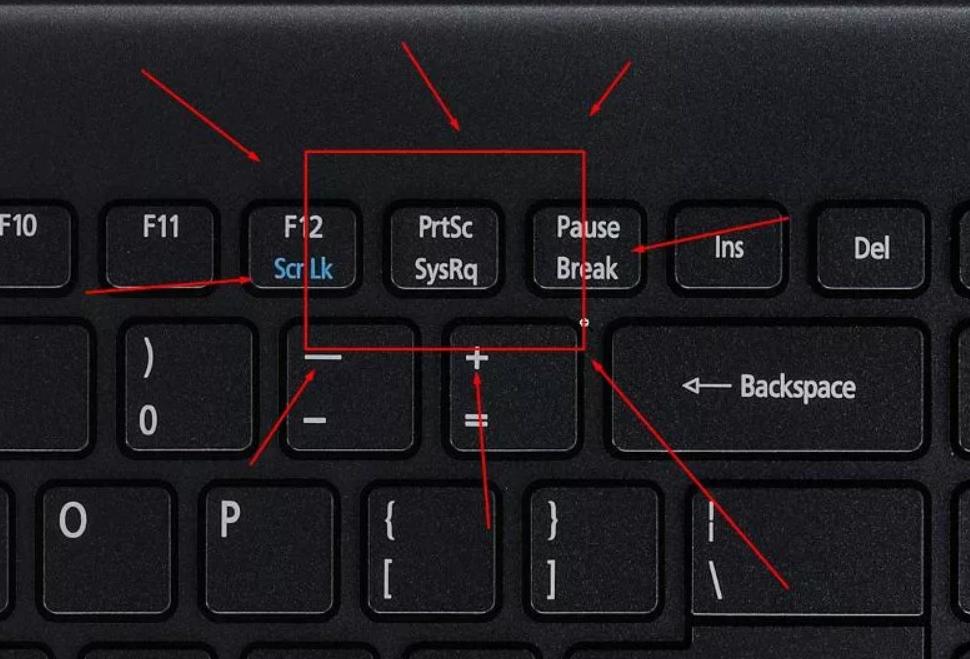 Самый простой способ сделать скрин – кнопка на клавиатуре