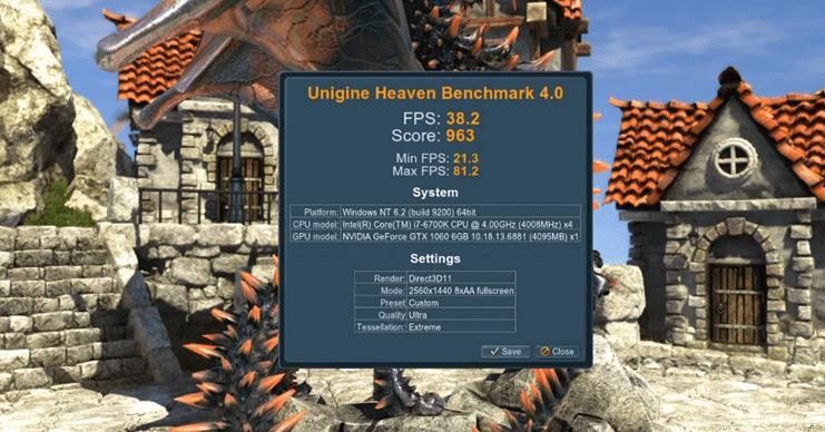 Heaven Benchmark