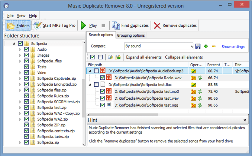 Music Duplicate Remover